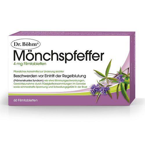 DR.BÖHM Mönchspfeffer 4 mg Filmtabletten